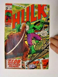 1970 Incredible Hulk #129 Roy Thomas Story & Herb Trimpe Art The Glob FN