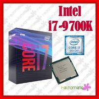 Intel i7-9700K 3.6GHz 12MB LGA1151 CoffeeLake CPU BOX 100% NEW SEALED ORIGINAL