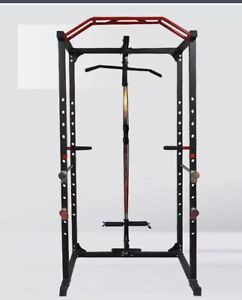 Power Rack 300kg Cage Home Gym Training Exercise