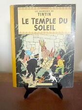 Tintin. Le Temple du Soleil. B13. 1955