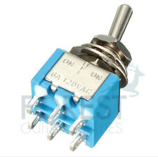 DPDT Mini toggle switch 3 position ON-OFF-ON for guitar coil tapping and phase