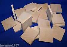 25 Natural Unfinished HardWood 1-1/2
