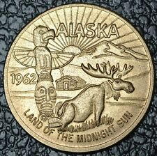 1962 ALASKA SOUVENIR MONEY - Good For $1 in Trade - Land Of The Midnight Sun
