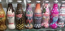 Coca Cola Light Serie completa 8 Bott. Tribute to fashion 2009 vetro 250ml:Leggi