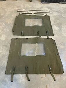 Side Curtain and Door Mounting Kit NOS Fits M38A1 Military jeep (BB80)