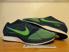 Nike Flyknit Racer BRAVE BLUE Sz 14 100% Authentic Trainer SEAHAWKS 526628 403