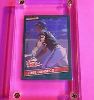 1986 Donruss Jose Canseco Rookie Card  RC #22 Athletics Mint from new set