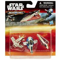 Star Wars Miniature Micro Machines 3 In A Pack - Clone Army Raid