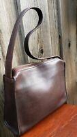 Coach Brown Leather Shoulder Bag 9052 Purse Handbag, Vintage