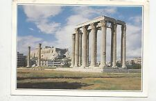 BF25001 athens temple of olympus zeus greece front/back image