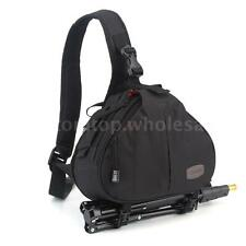 Caden K1 DSLR Camera Bag Case Messenger Shoulder Bag for Canon Nikon  Y0F3