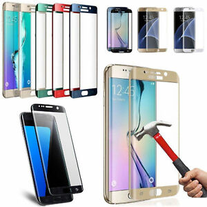 6D Cover Tempered Glass Screen Protector For Samsung S21 S20 Plus/Ultra S9 S10+