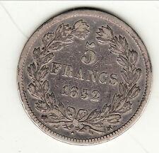 RARE 5 FRANCS LOUIS PHILIPPE 1832 M