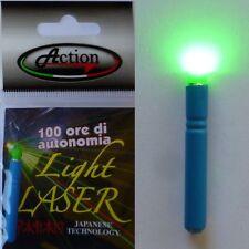 starlight led laser x light misura grande 4.5mm pesca galleggiante
