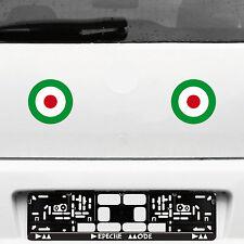 2 pegatinas tatuaje 11cm target mod Italy it scooter decorativas lámina auto Roller Vespa