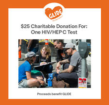 $25 Charitable Donation For: One HIV/HEP C Test