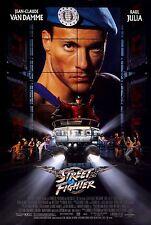 Street Fighter (1994) Retro Movie Poster (24x36) - Jean Claude Van Damme Capcom