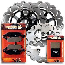 Suzuki F+R Brake Disc Rotor + Pads GSX 600 & GSX 750 Katana [1998-2002]