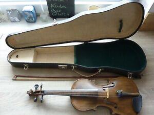 Alte Geige /Violine mit Koffer und Bogen aus dem Nachlass meines Vaters
