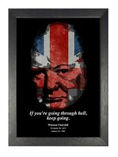 Winston Churchill 22  British Politician Army Officer Poster Prime Minister UK