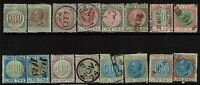 """Italy 16 """"Tassa Lusso E Scambi"""" 1921 Stamps, all singles, see notes - S6086"""