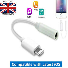 Adapter for iPhone - Lightning To 3.5mm Jack Connector Cable Car Audio Bluetooth