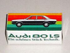 Reprobox Schuco 1:66 Audi 80 LS - Werbebox für Audi