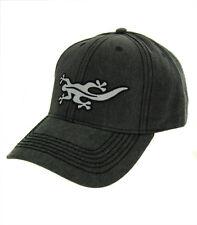 Black Salamander Pigment Dyed Charcoal Peak Cap - PC9 - New
