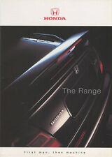 Brochure: Honda - The Range - 1998 (Includes Legend/Prelude/Integra/NSX)