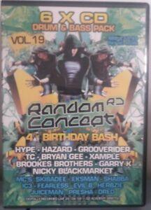 Random Concept Vol 19 4th Birthday Bash HYPE HAZARD GROOVERIDER TC BRYAN GEE