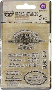 """Vintage Vanity Clear Stamps 3""""X4"""" #1"""