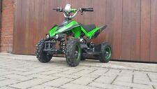 RV-Racing Elektro Quad Miniquad Kinder ATV GT540 800W Pocketquad Kinderquad Grün