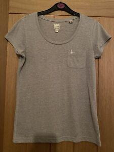 Jack Wills Womans / Girls Grey Top  Size 6 Vgc