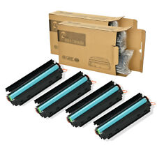 4 Pack CE285A 85A Black Toner Cartridge for LaserJet HP P1102W M1217nfw MFP