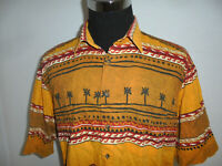 vintage McKay Hawaii Hemd crazy pattern hawaiihemd oldschool 80s shirt Gr.XL