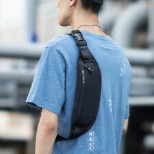 Fanny Pack Black Waterproof Money Belt Bag Men Purse Teenager's Travel Wallet Be