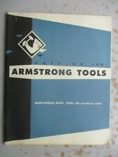 Armstrong Tools - Catalog 700 from 1961