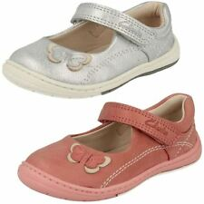 Clarks Baby Girls' Shoes with Hook & Loop Fasteners