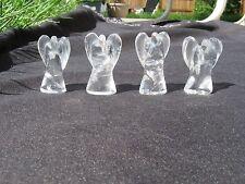 "1 Angel Quartz Crystal Carving 1-3/16"" - 1-5/16"" Brazil"