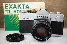 IHAGEE WEST Kamera EXAKTA TL500 TL 500 mit Objektiv EXAKTAR AUTO 55mm f/1.8 M42