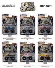 Greenlight 1/64 Kings Of Crunch Monster Truck Series BigFoot King Kong SET of 6