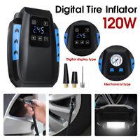 12V Car Air Compressor Digital Tire Inflator DC Car Auto Tyre Pump 150 PSI  1 V