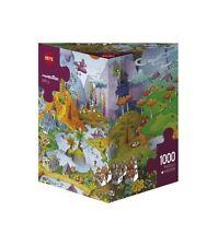 TRIANGULAR JIGSAW PUZZLE HY29230 - Heye Puzzles  1000 Pc - Idyll, Mordillo