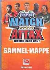 Match Attax 2010/11 aus Liste 20 Basis-Karten und auch Sonderkarten aussuchen