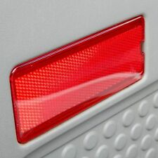 Ford 99-07 F250 Super Duty Front or Rear Door Reflector F350 F450 F550 Red POWER