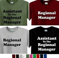 Regional MANAGER T-shirt, or Assistant To The Regional Manager shirt, the office