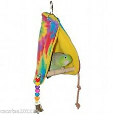 Peekaboo Parrot Perch Tenda-piccolo-per budgies, Canarie, Fringuelli
