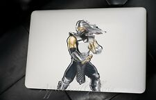 Mortal Combat Smoke Decal Sticker Skin Stickers for Macbook Pro Air 13 15 17 KS