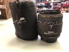 SIGMA 50MM 1:2.8 DG MACRO Detachable Camera Lens - Pentax