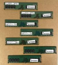 8GB PC4-2666V 1Rx8 DDR4 Desktop RAM Memory - HP 933276-001 - misc manufacturer